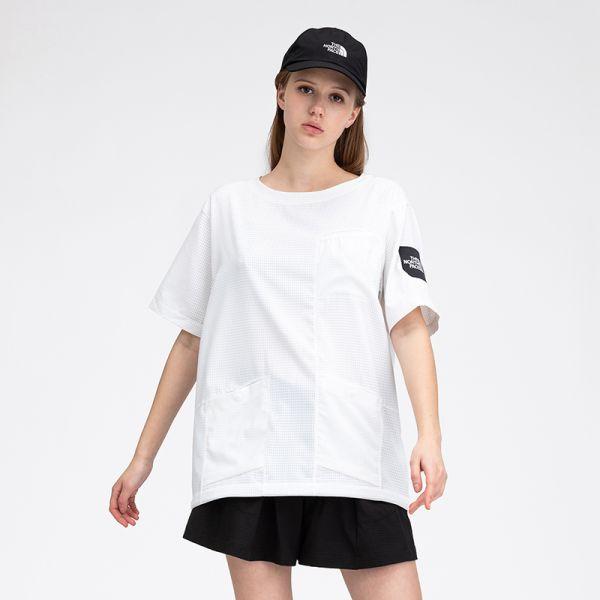 TheNorthFaceUE北面AIRFLOWUTILITYCREW男宽松透气短袖T恤|49EL